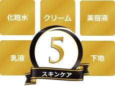 5つのスキンケア